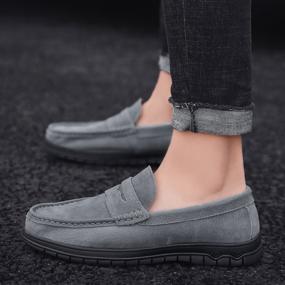 High Quality Summer Genuine Leather Flats Casual Shoes