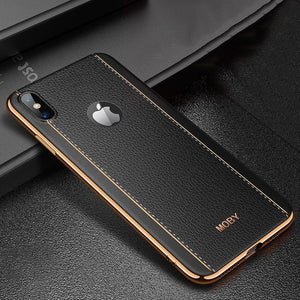 Soft Rubber Silicone Anti-Fall Cases For iphone 6 6S 7 8 Plus X XS MAX XR