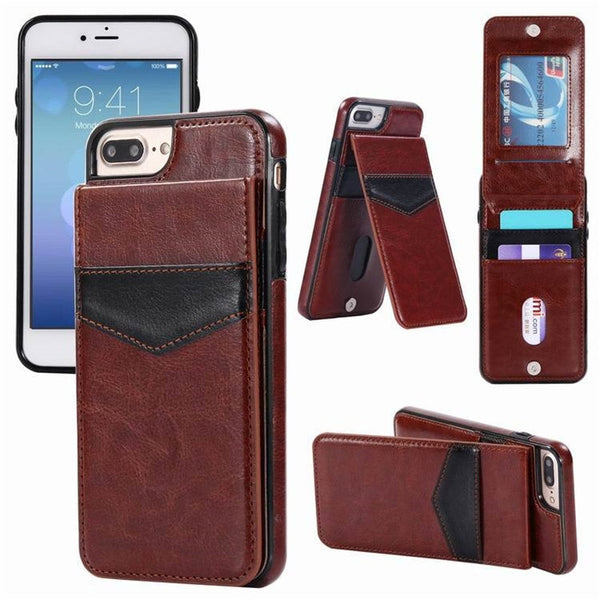 2019 New Retro Flip Leather Case With Card Pocke For Samsung Series(Extra Buy 2 Get 5% OFF, 3 Get 10% OFF)
