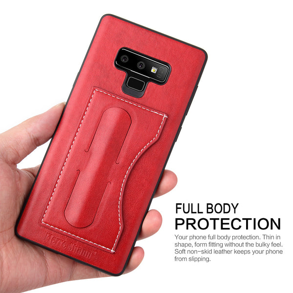Phone Accessories - Leather Wallet Cover Phone Case for Samsung Galaxy S9/8 Plus Note 8/9