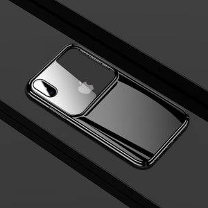 Glass Mirror Tempered Glass Shell For iphone 7 8 Plus X XS XR MAX