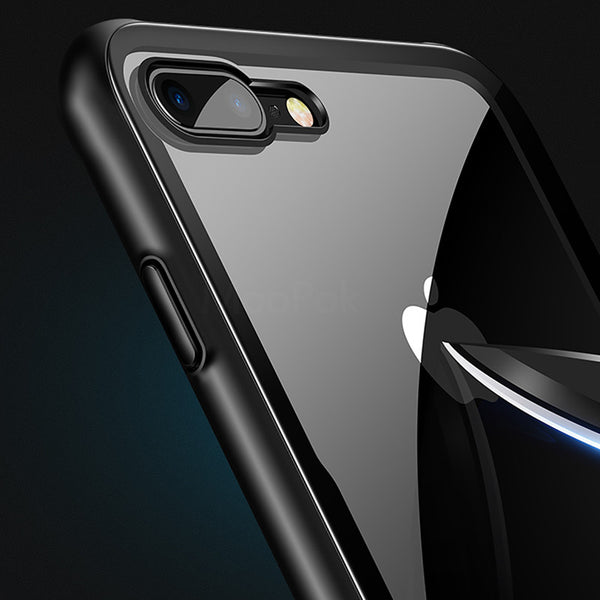 Phone Case - Luxury Ultra Thin Protective Tempered Glass Phone Case For iPhone X XS(Max) XR 8 7 6S 6/Plus