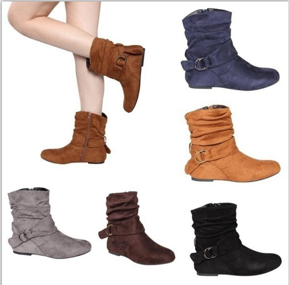 Shoes -  New Women's Martin Ankle Boots(Buy 2 Got 5% off, 3 Got 10% off Now)