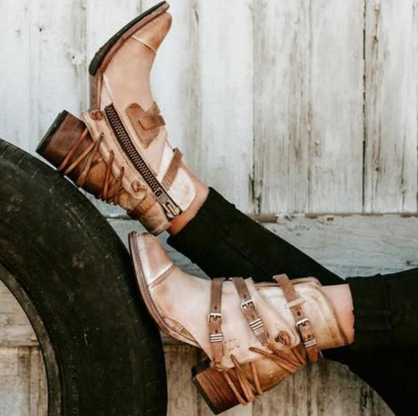 Shoes - 2018 Hot Sale Women's Vintage Ankle Boot(Buy 2 Got 5% off, 3 Got 10% off Now)
