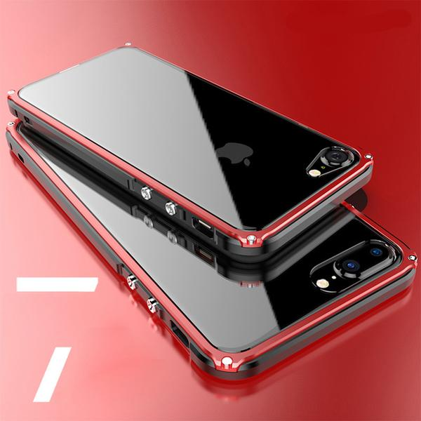 Phone Case - Shockproof Slim Frame Metal Protector Side Phone Cases