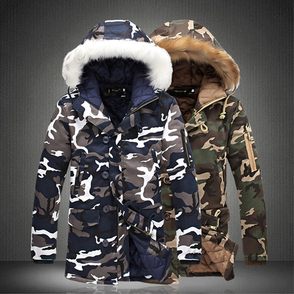 Men's Clothing - Camouflage Casual Thick Warm Jacket
