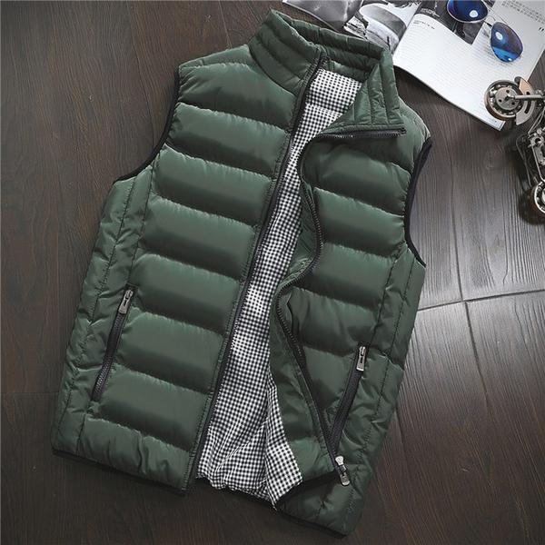 Men's Fashion Casual Warm Vest Coats  ( Extra Discount:Buy 2 Get 5% OFF, 3 Get 10% OFF,4 Get 15% OFF)