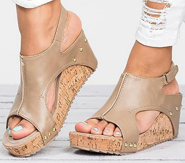 55bd4947be5 Shoes - Women's Wedge Sandals Summer Casual Shoes(Buy 2 Got 10% off, 3 Got  20% off Now)