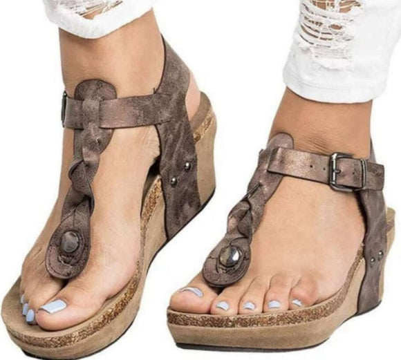 Shoes - 2019 Vintage Women's Sandals(Buy 2 Got 5% off, 3 Got 10% off Now)