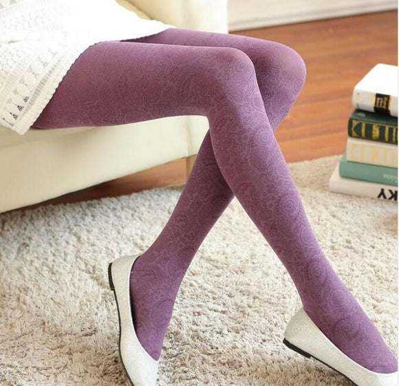 Clothing - 2018 Super Elastic Women's Autumn Winter Warm Tights