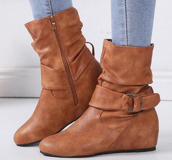 Shoes - Women's Warm Cute Mid-calf Boots