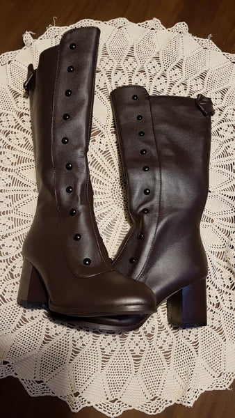 1c85b4e1ea5 Boot - Vintage PU Leather Gladiator Boots