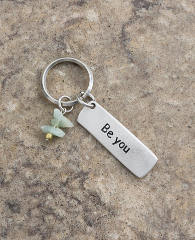 Be You Key Ring