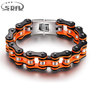 Motorcycle Chain Bracelet 316L Stainless Steel