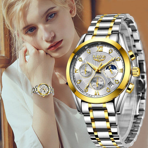 New Gold Watch Women