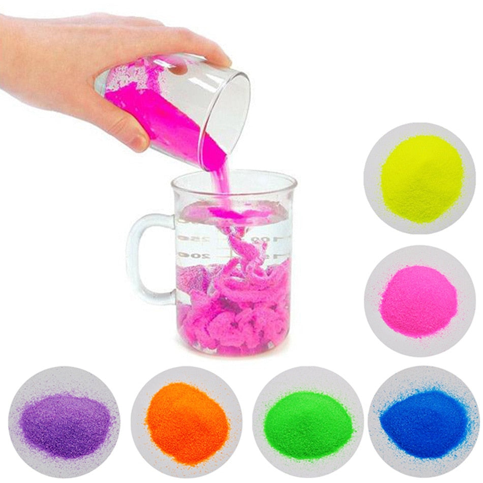 DIY Not Wet Magic Sand Educational Toy For Kid Gifts