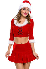 #D7280 Adult Sexy Ms. Santa Costume