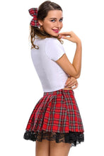 #D8645 3pcs Temptress School Girl Costume