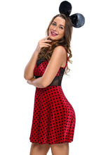 #D89020 2pcs Mistress Mouse Costume
