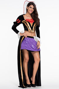 #D8950 Sultry Heartless Queen Costume