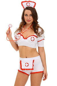 #D8989 Drug Injection Flirt Nurse Costume