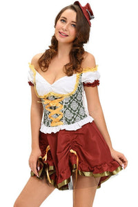 #D8990 Adult Beer Garden Girl Costume