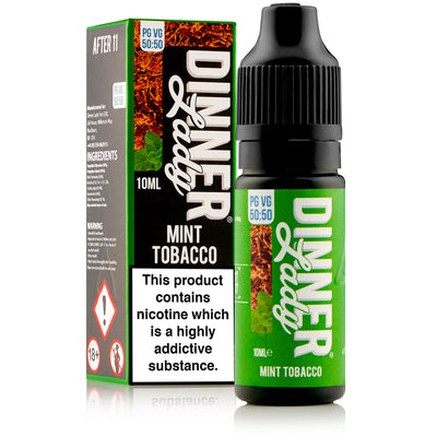 Mint Tobacco E-Liquid by Dinner Lady 10ml - Loop-E-Juice
