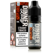 Straight Tobacco E-Liquid by Dinner Lady 10ml - Loop-E-Juice