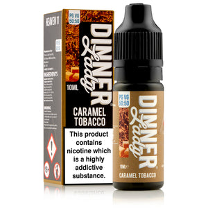 Caramel Tobacco E-Liquid by Dinner Lady 10ml - Loop-E-Juice