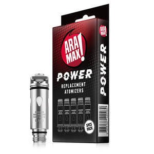 Aramax Power Coils 0.14Ohm (Pack of 5) - Loop-E-Juice