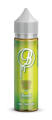 Retro Pear By Beautiful Vapours 50ml 0mg