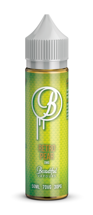 Retro Pear By Beautiful Vapours 50ml - Loop-E-Juice