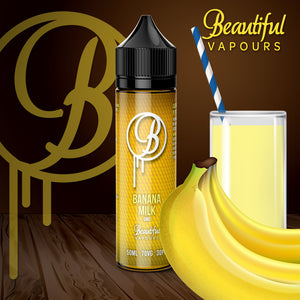 Banana Milk by Beautiful Vapours 50ml 0mg