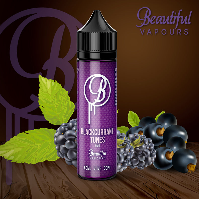 Blackcurrant Tunes by Beautiful Vapours 50ml - Loop-E-Juice