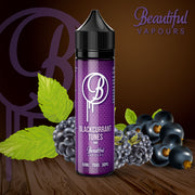 Blackcurrant Tunes by Beautiful Vapours 50ml 0mg - Loop-E-Juice