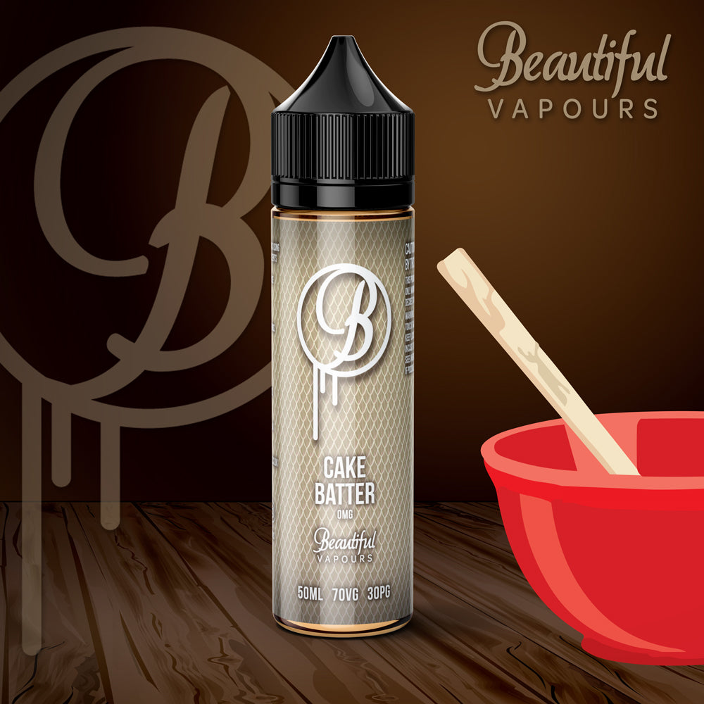 Cake Batter by Beautiful Vapours 50ml - Loop-E-Juice
