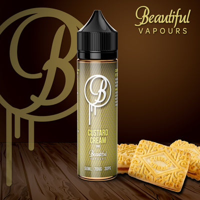 Custard Cream by Beautiful Vapours 50ml 0mg