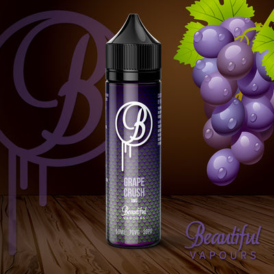 Grape Crush by Beautiful Vapours 50ml 0mg