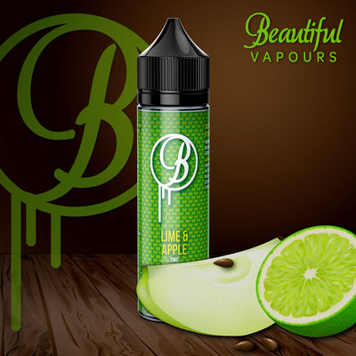 Lime & Apple by Beautiful Vapours 50ml 0mg - Loop-E-Juice