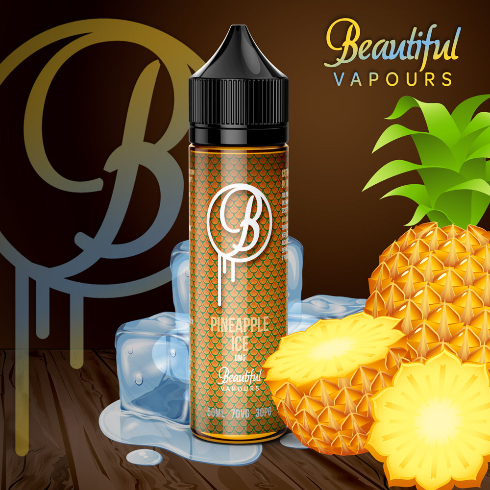 Pineapple Ice by Beautiful Vapours 50ml - Loop-E-Juice