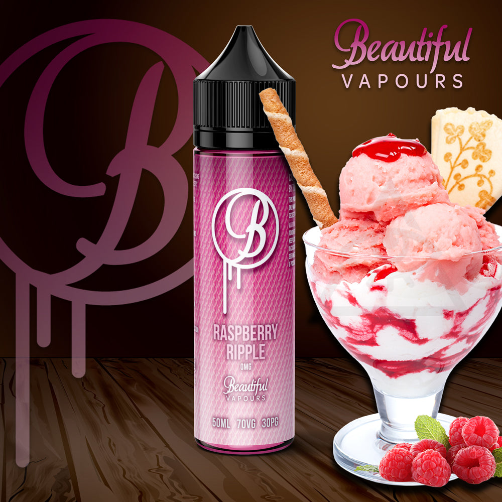 Raspberry Ripple by Beautiful Vapours 50ml - Loop-E-Juice