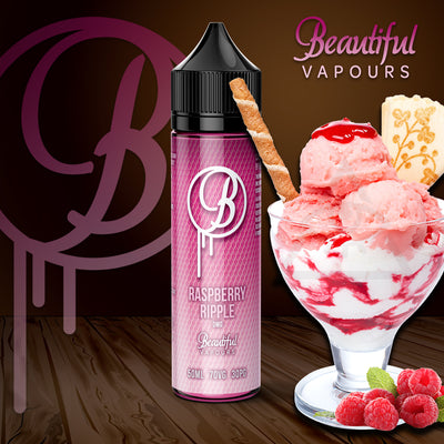 Raspberry Ripple by Beautiful Vapours 50ml 0mg - Loop-E-Juice