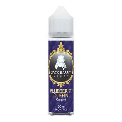 Blueberry Duffin e-Liquid by Jack Rabbit 50ml - Loop-E-Juice