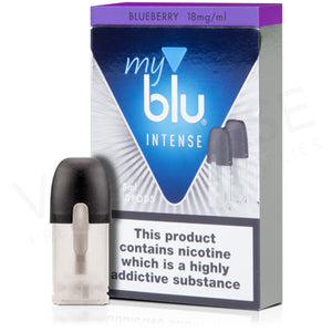 My Blu Pods - 18mg Blueberry Salt (2 Pack) - Loop-E-Juice