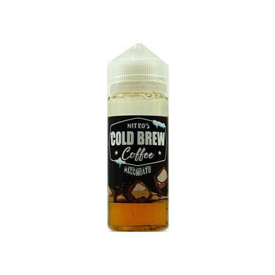 Nitros Cold Brew Coffee Macchiato 100ml 0mg - Loop-E-Juice
