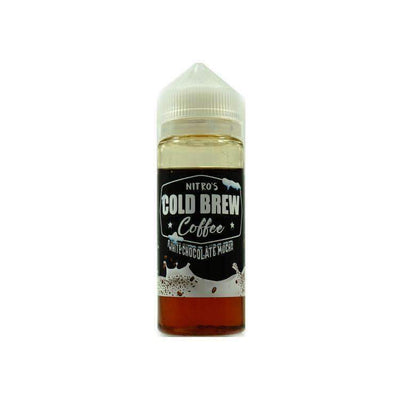 Nitros Cold Brew Coffee White Choc 100ml 0mg - Loop-E-Juice