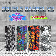 Double Barrel V3 by Squid Industries - Loop-E-Juice