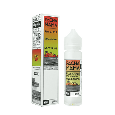 Fuji Apple, Strawberry Nectarine 50ml 0mg Pacha Mama