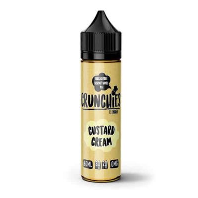 Custard Cream by Crunchies 50ml 0mg