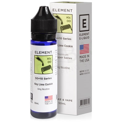 Key Lime Cookie Drip E-Liquid By Element 50ml - Loop-E-Juice